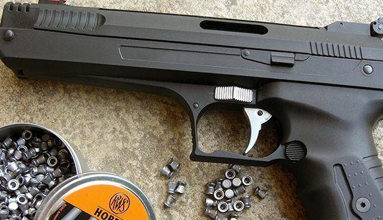 carabinas y pistolas de aire comprimido